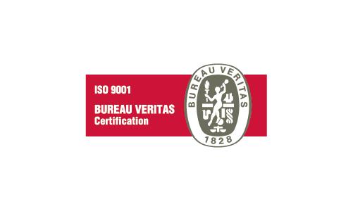 A Bureau Veritas certifica que o sistema de gestão da Duritcast encontra-se  de acordo com os requisitos da norma ISO 9001:2008.