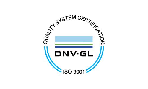 A DNV GL aprova a produção de ferro fundido e aço inoxidável em conformidade com as normas da DNV, DNV GL e GL.